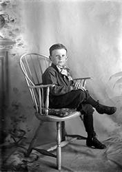 Gordon Wright 7years old