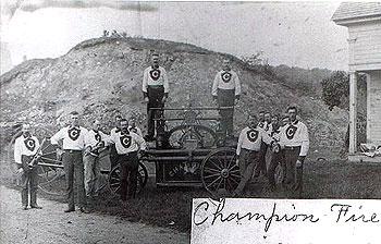 Champion Fire Company with Pumper